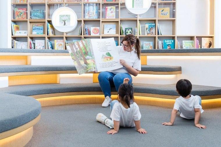 área recreativa-centro-juegos-diseno-lugar-estudio-libros