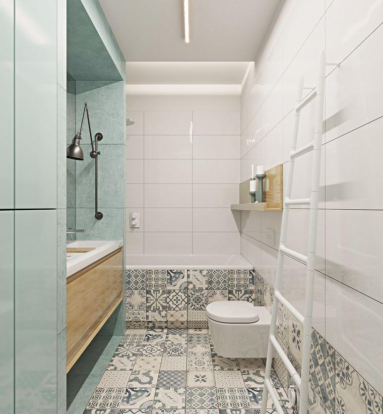Decoraci n de ba os peque os consejos para espacios for Banos modernos para espacios pequenos