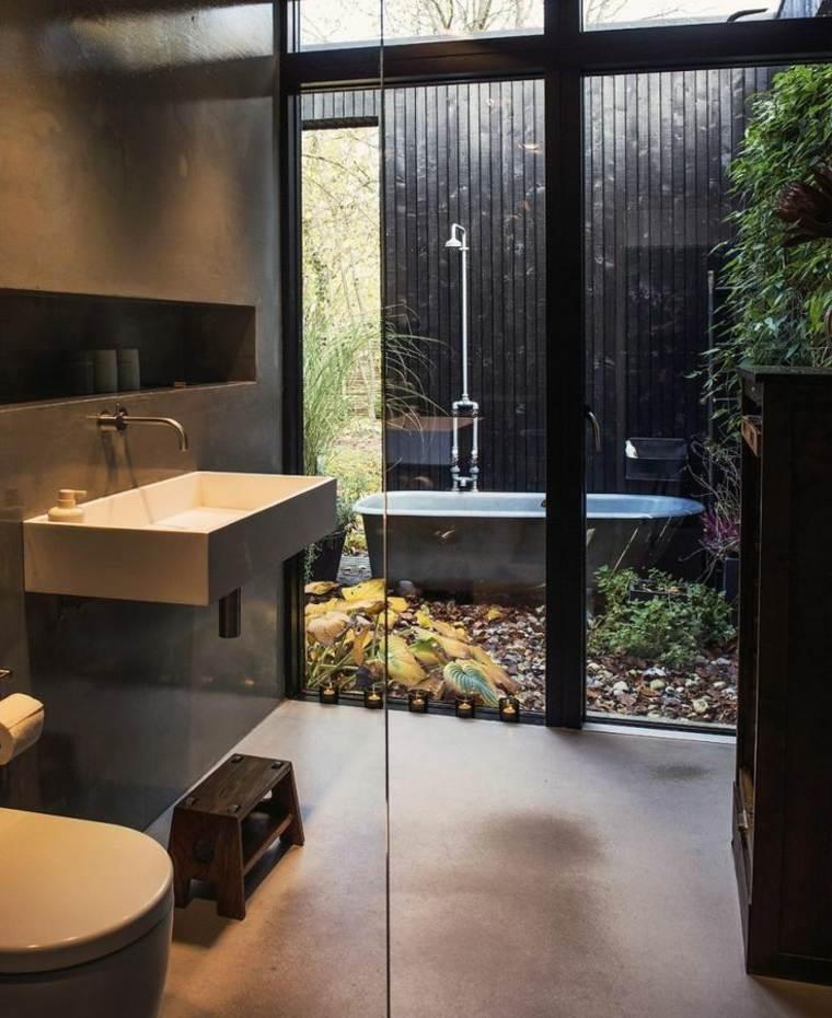 cuarto de baño patio