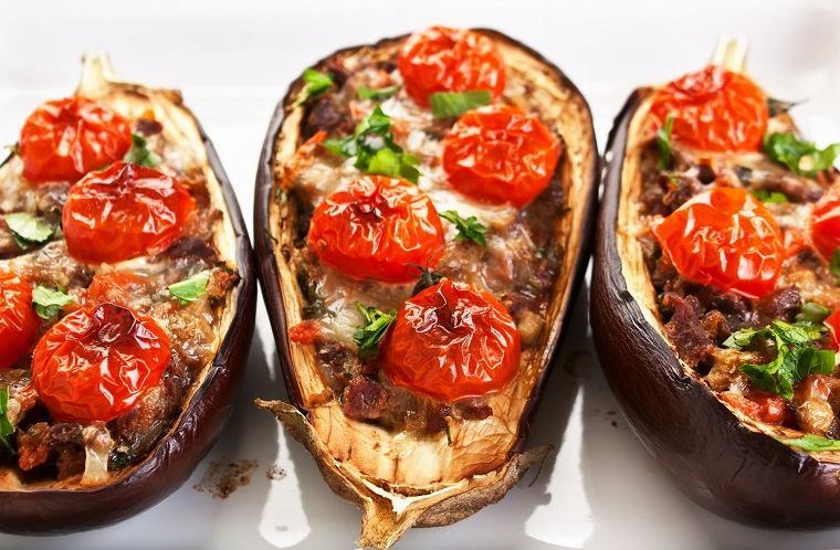 berenjenas rellenas-recetas-horno-comida-cena