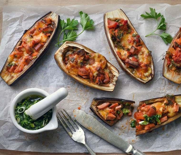 berenjenas rellenas-recetas-opciones-cena-comida