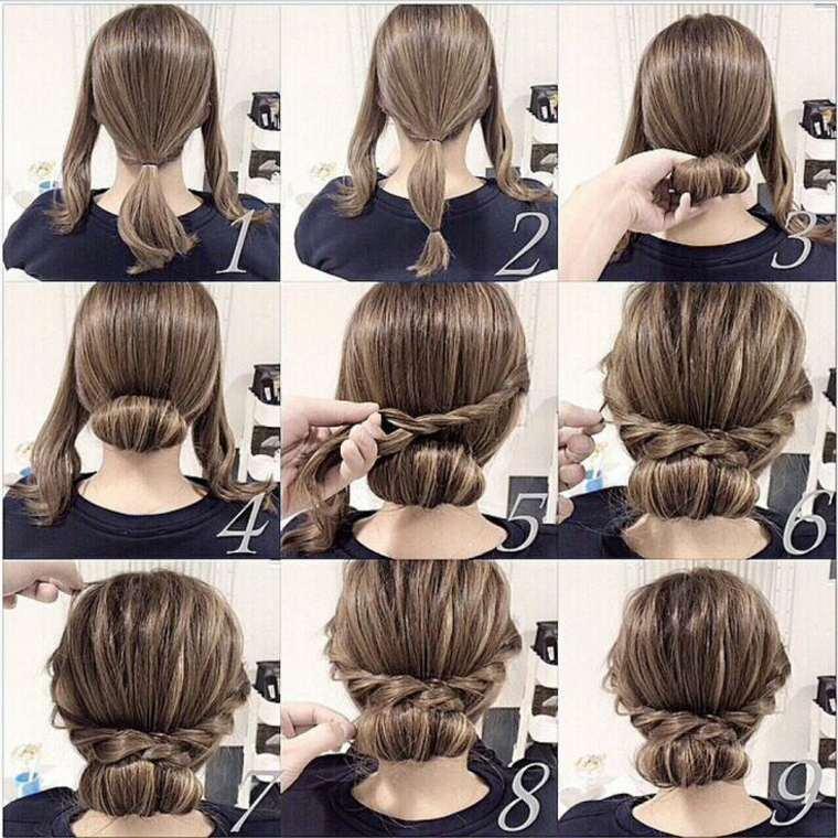 peinados fáciles paso a paso - ideas sencillas y rápidas -