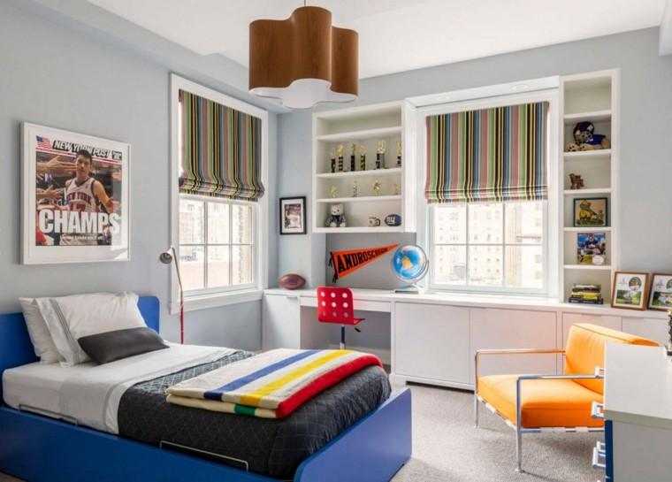 cama-azul-muebles-blancos-diseno-habitacion-ninos