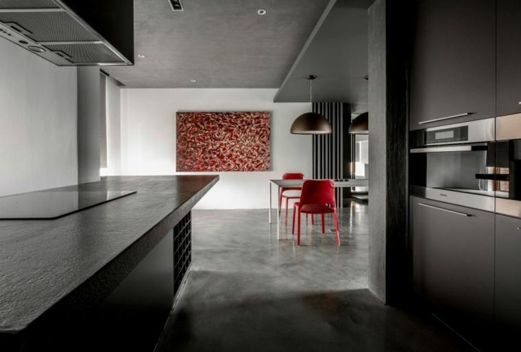 casa-amplia-muebles-estilo-minimalista-muebles-negros