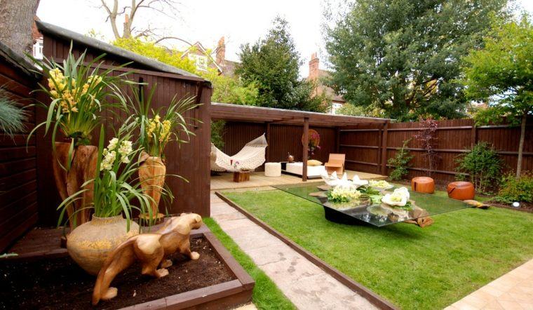 jardín cubierta
