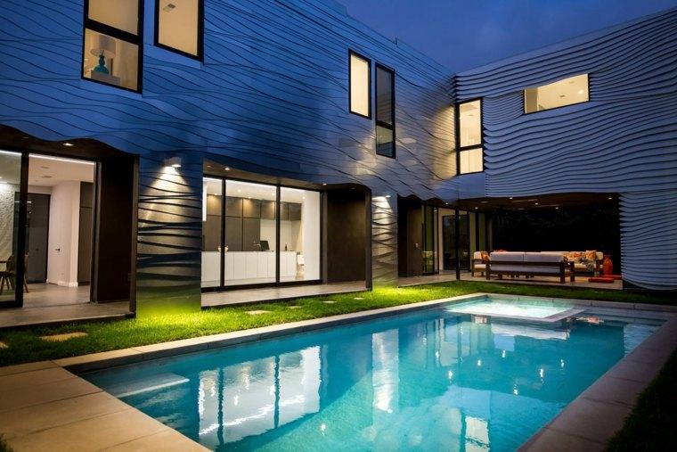 casas con estilo moderno elegante california