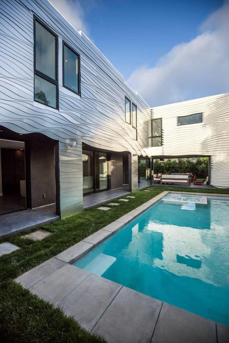 casas con estilo moderno estilo