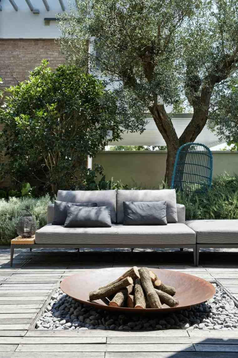 casas modernas diseño colgantes-espacios