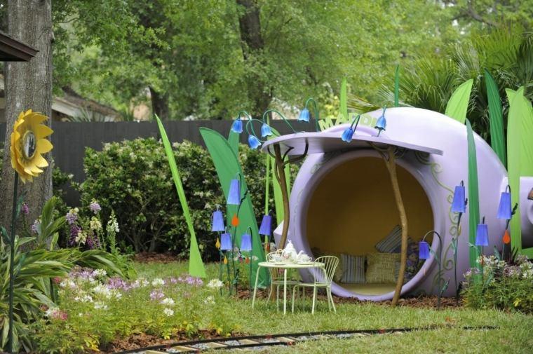 Parque infantil en el jard n ideas de diy muy divertidas for Juegos de jardin para nios puebla