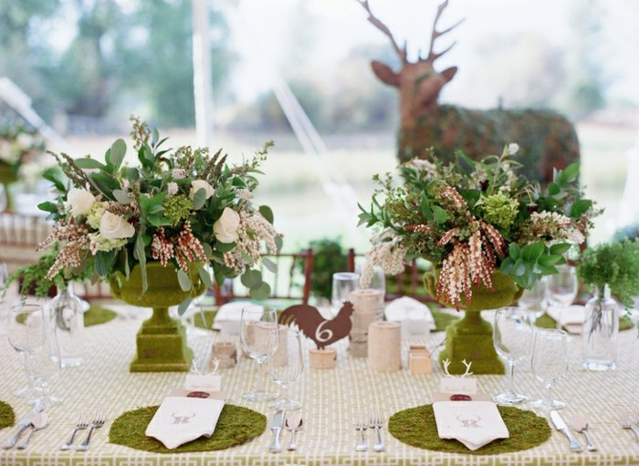 centros de mesa para boda-velas-plantas-macetas-ideas
