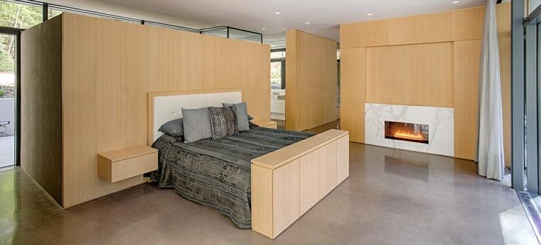 chimeneas-bioetanol-dormitorio-paredes-madera