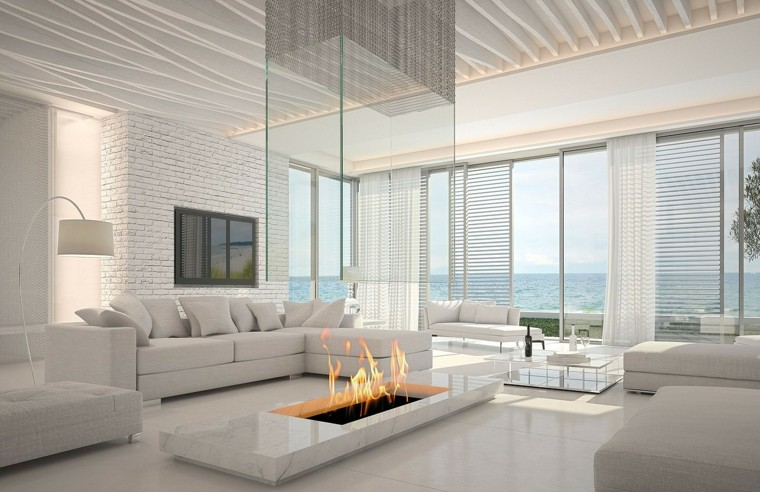 chimeneas-bioetanol-interiores-minimalistas-blanco