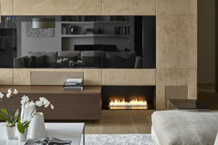 chimeneas-bioetanol-salon-muebles-blancos-pared-estilo