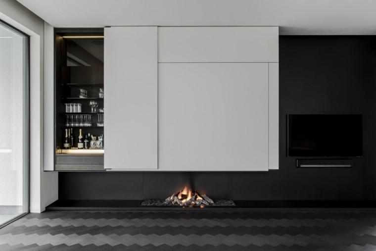 chimeneas de bioetanol-suelo-diseno-blanco-negro-muebles