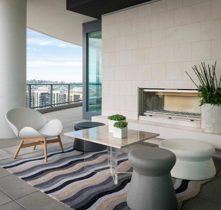 chimeneas de bioetanol-terraza-diseno-moderno-muebles-contemporaneos
