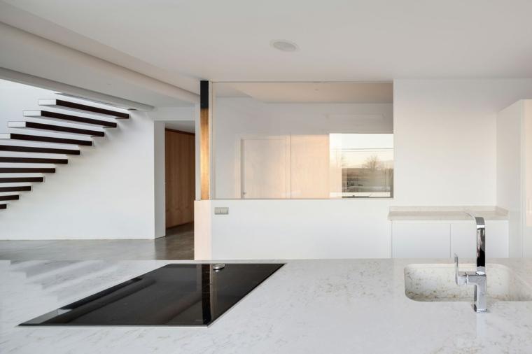 cocina-vista-interiores-casa-moderna