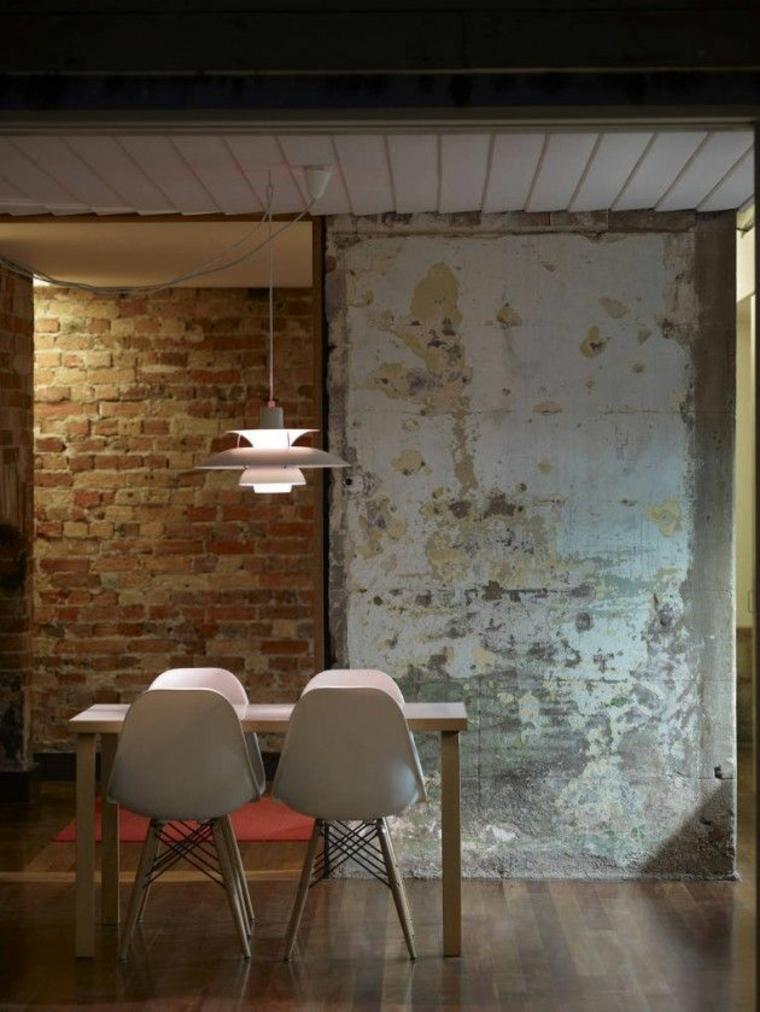 paredes desconchadas