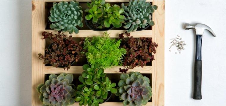 cómo hacer un jardín vertical-opciones-espacios-estrechos
