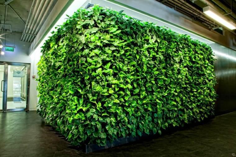 cómo hacer un jardín vertical-pared-angulo