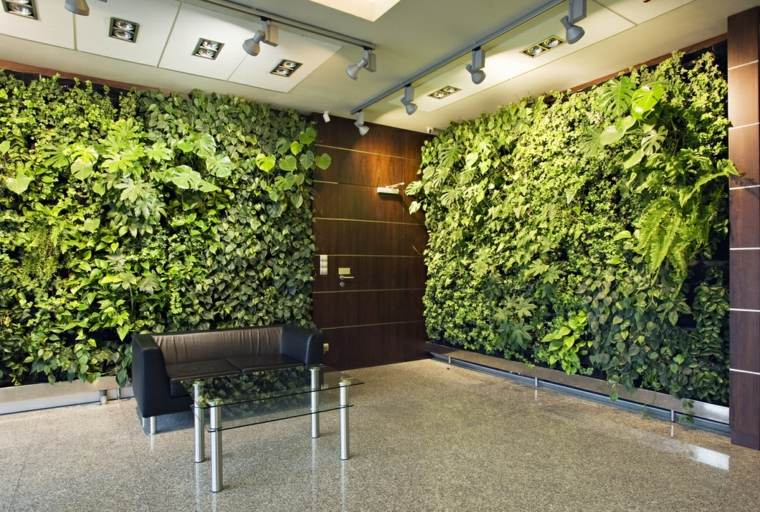 cómo hacer un jardín vertical-paredes-diseno-interior