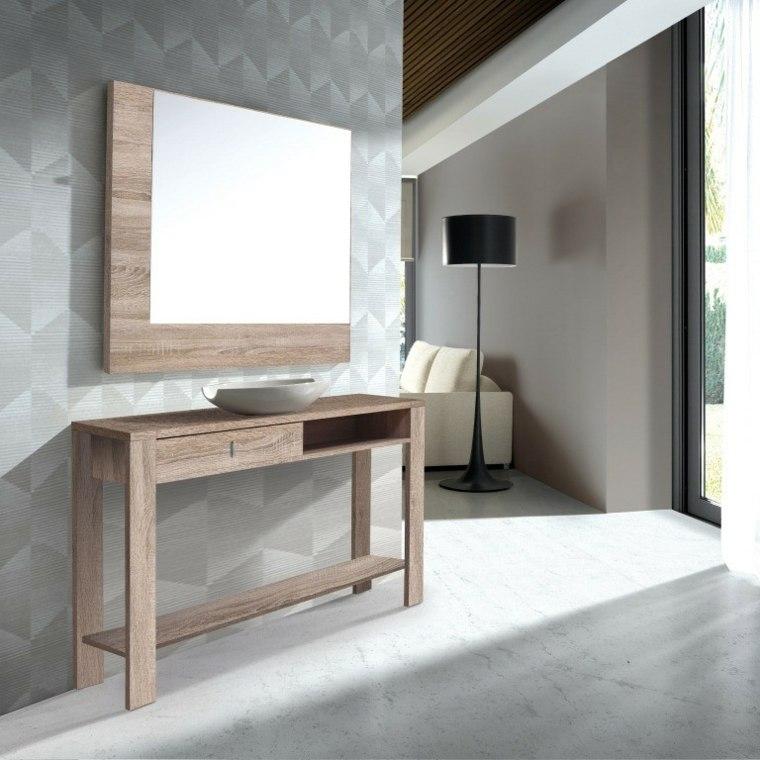 Recibidores modernos y las mejores ideas para decorarlos for Espejos como decorarlos