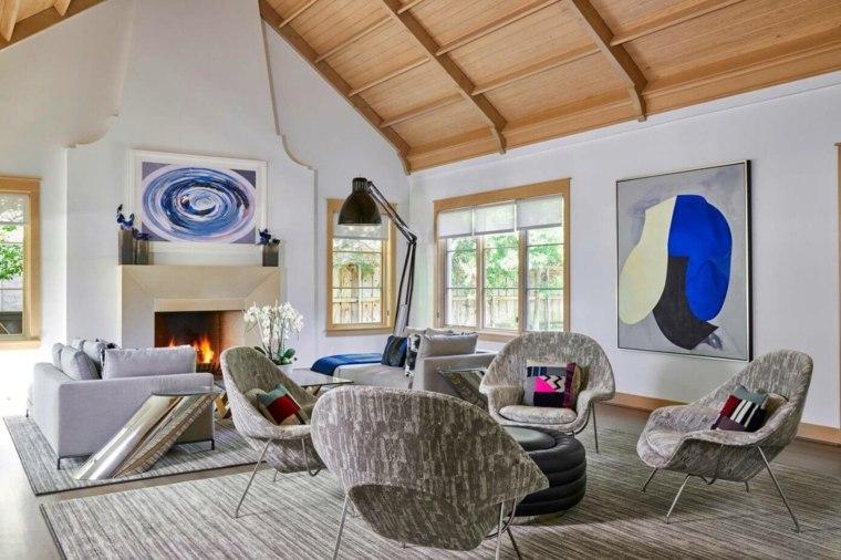 cuadros modernos-interiores-estilo-diseno-gary-hatch-interiors