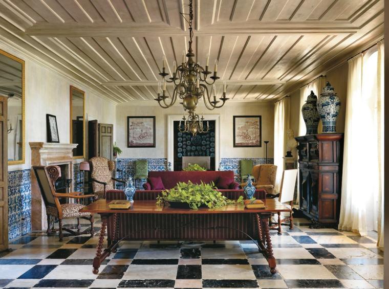 cuadros modernos-interiores-estilo-eclectico-atractivo