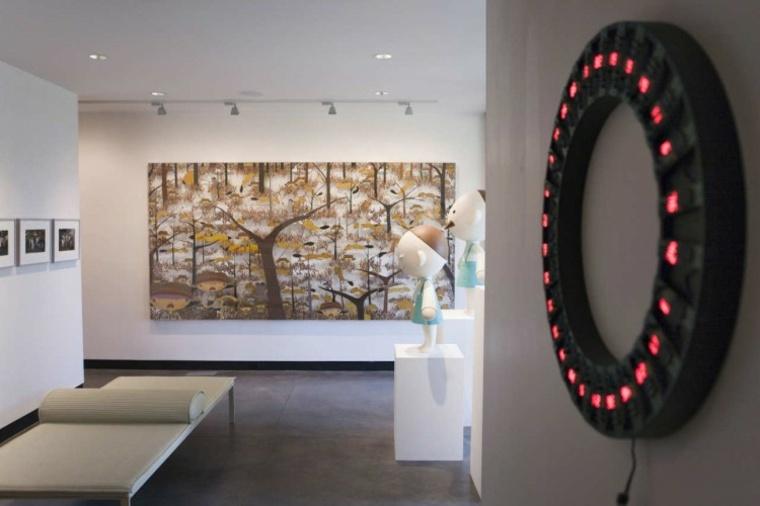 cuadros modernos-interiores-pasillo-diseno-moderno