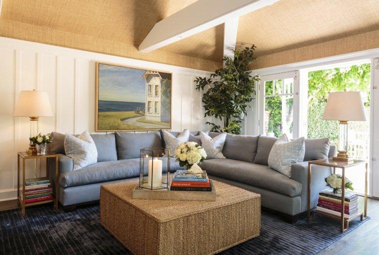 cuadros modernos-interiores-sofa-salon-diseno