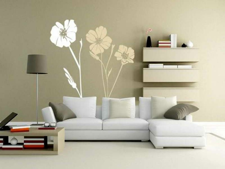 decoracion de paredes de salon diseño