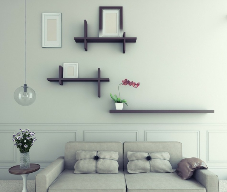 decoracion de paredes de salon interior