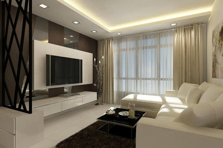 decoracion de paredes para salones interiores