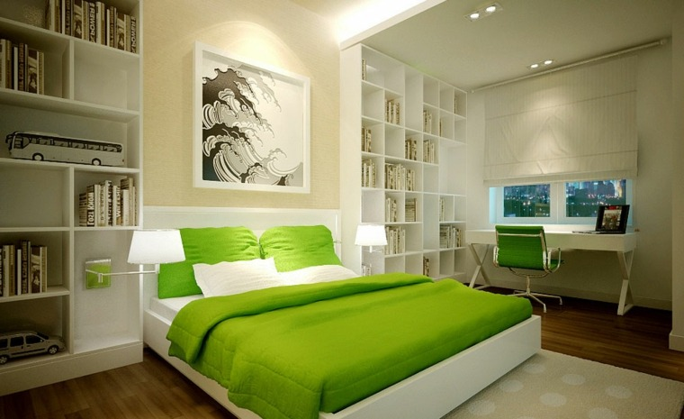 decoracion-feng-shiu-salon-verde