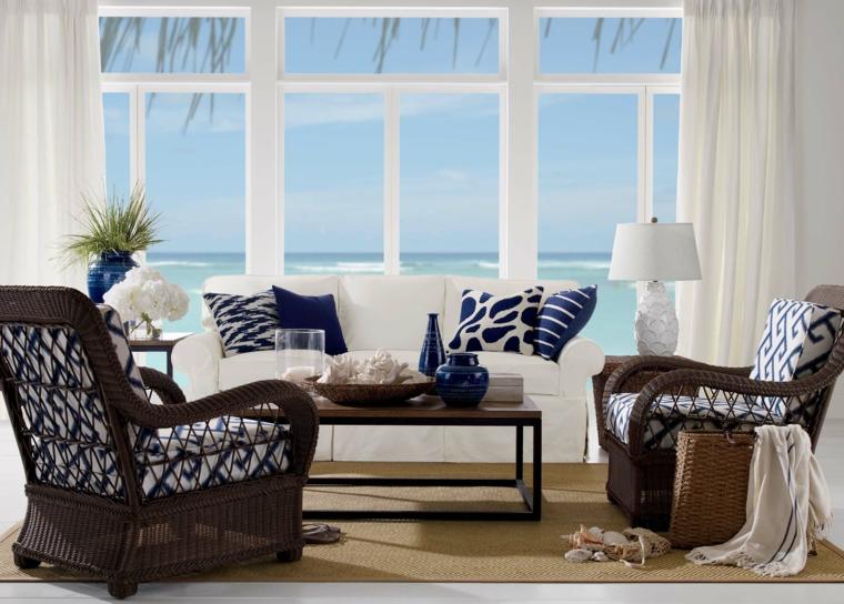 decoracion marinera fresco-cortinas-ideas