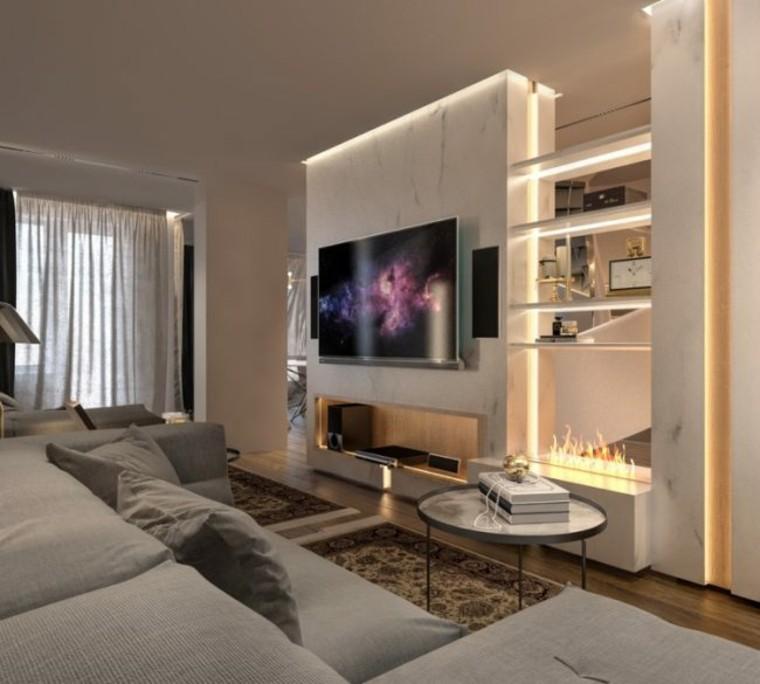 decoracion modernista interiores