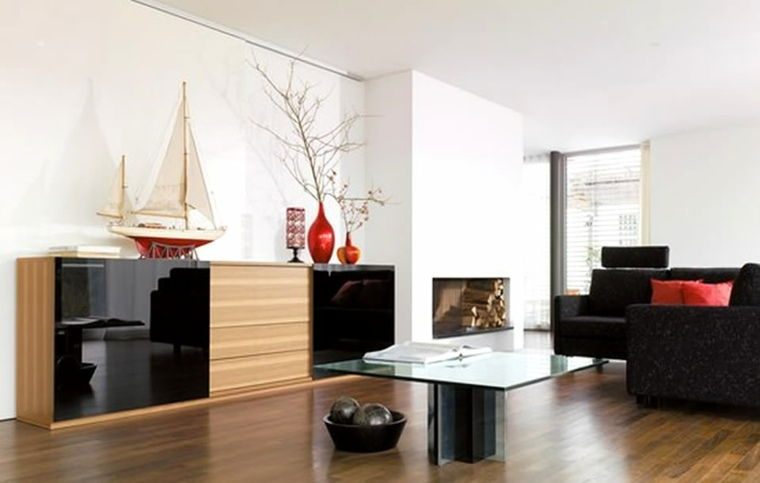decoracion paredes salon interior