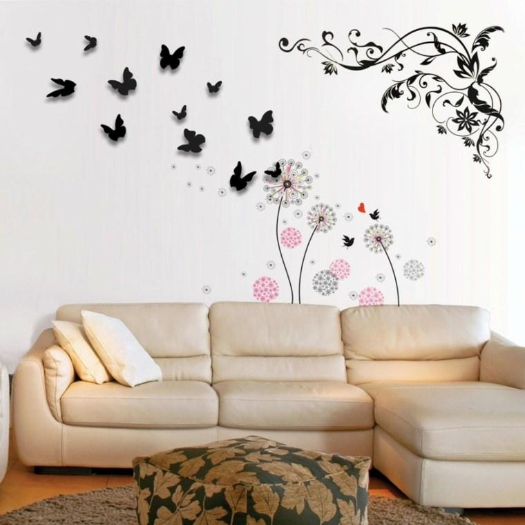 decoracion paredes salon