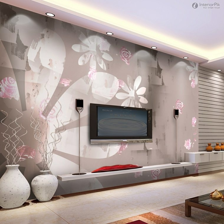 decorar paredes salon