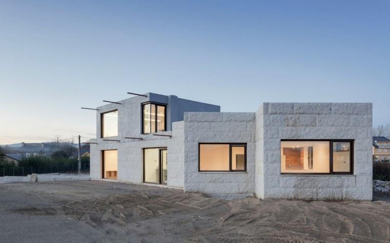 Diseño minimalista - Casa VMS por Marcos Miguélez