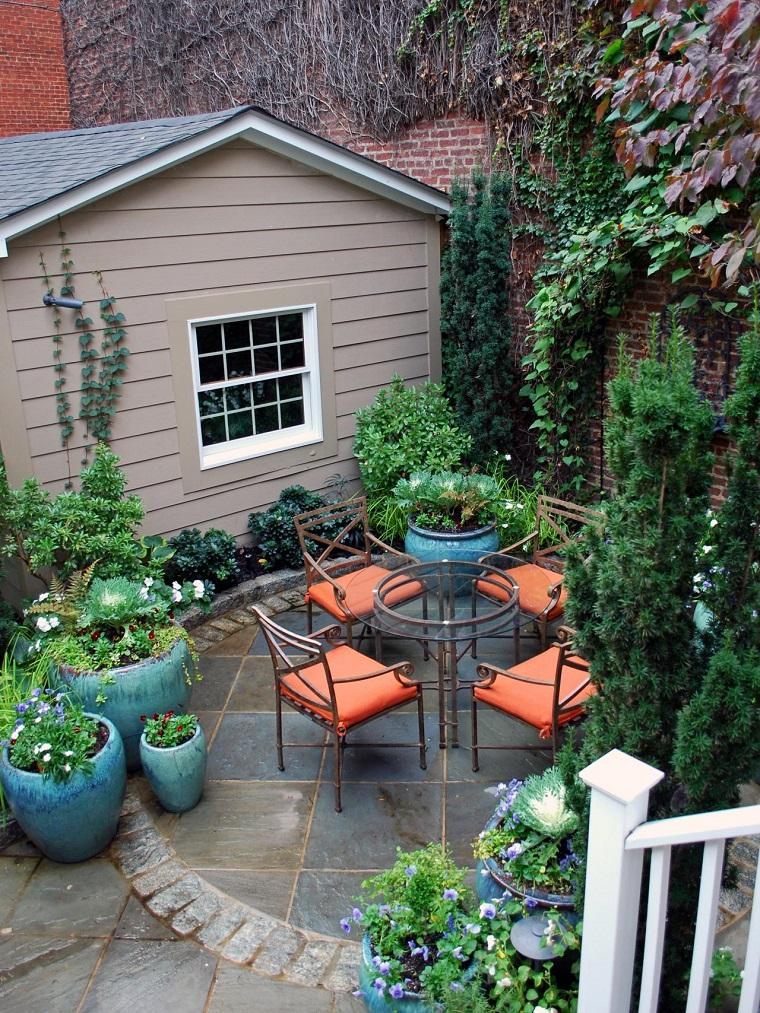 diseño de exteriores-jardines-pequenos-area-comidas
