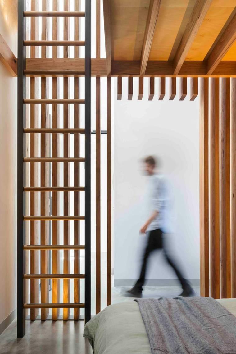 diseno interior-apartamento-modernos-MUSK-Architecture-Studio-paneles-madera