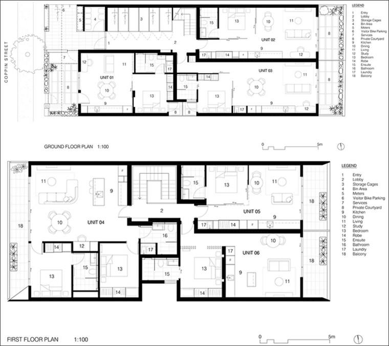 diseno-interior-apartamento-modernos-plano