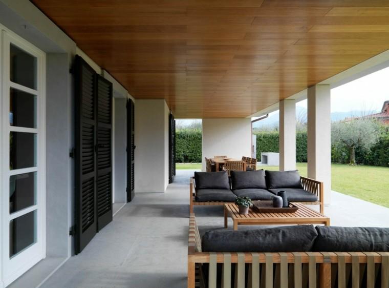 porche minimalista