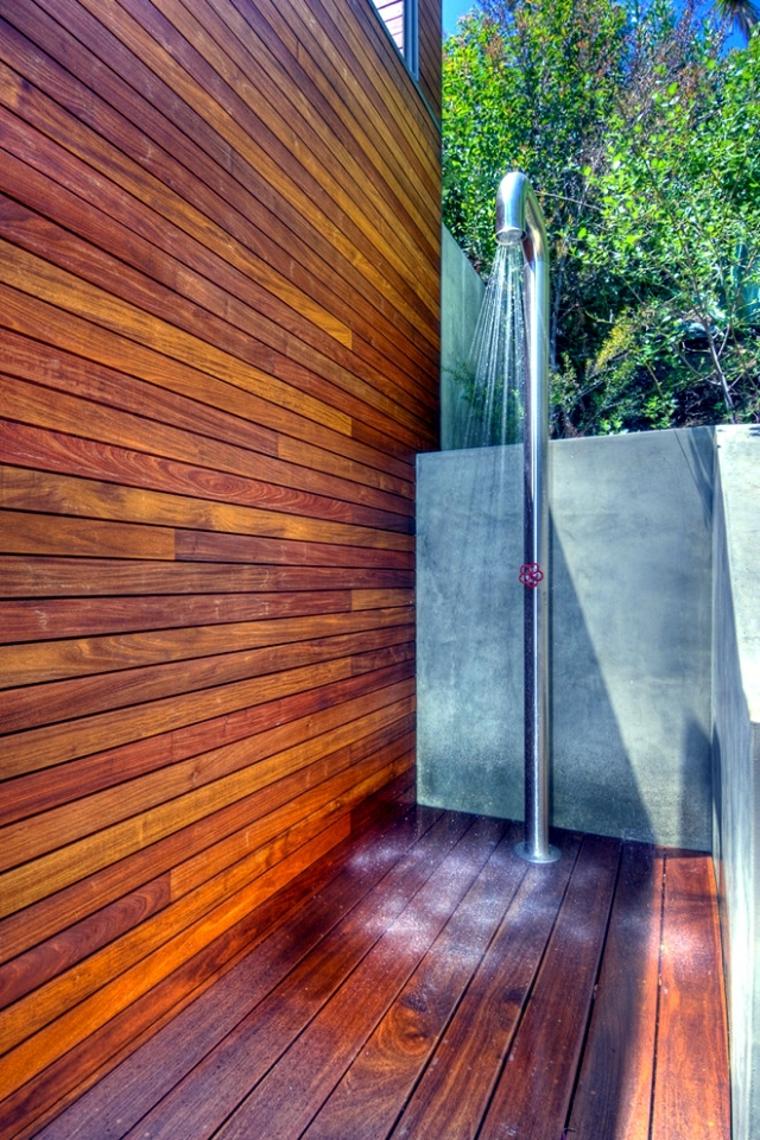 ducha jardín