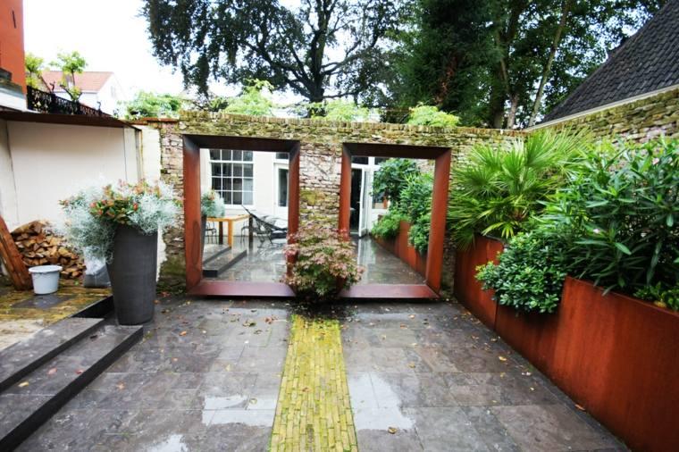 espejos-grandes-decoracion-jardin-moderno