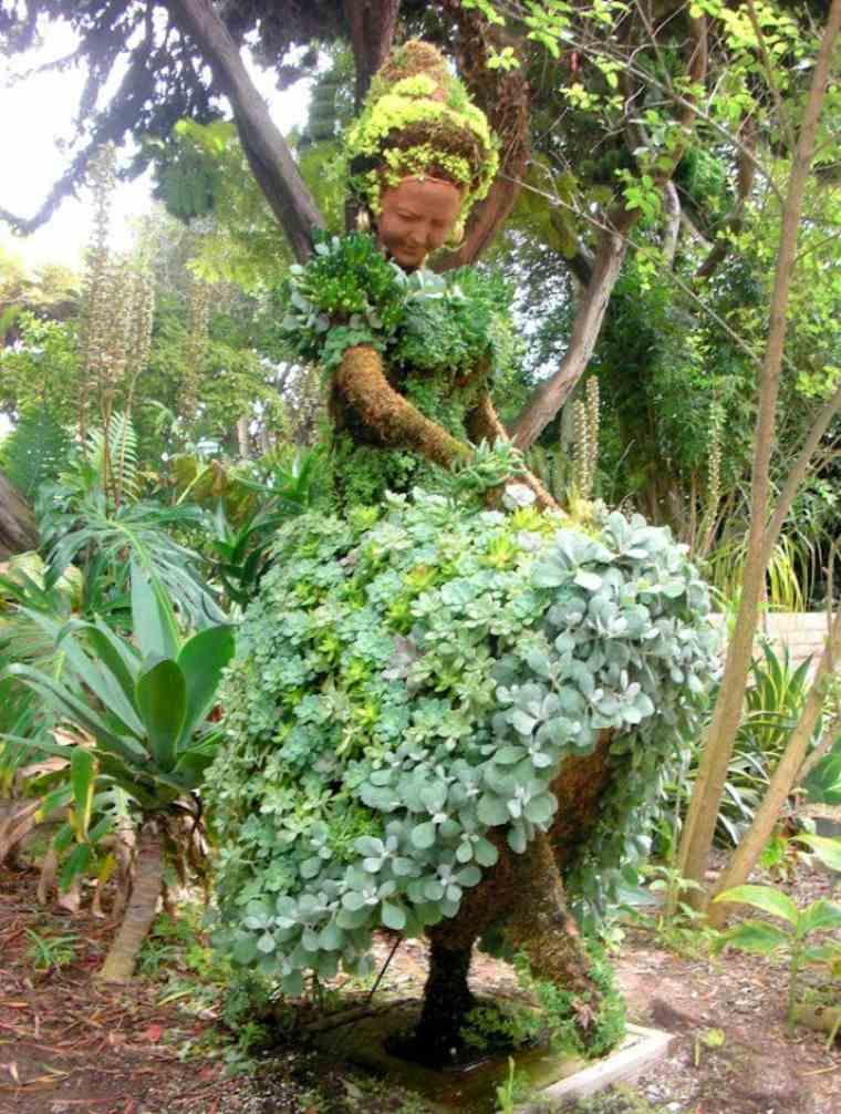 Ideas para el jard n enredaderas y estructuras para - Ideas originales jardin ...