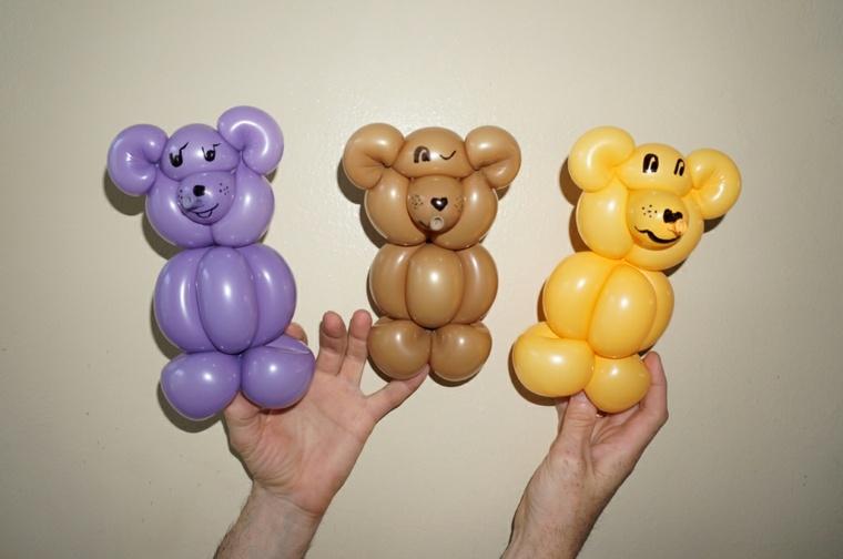 Figuras con globos formas de decorar el interior en fiestas