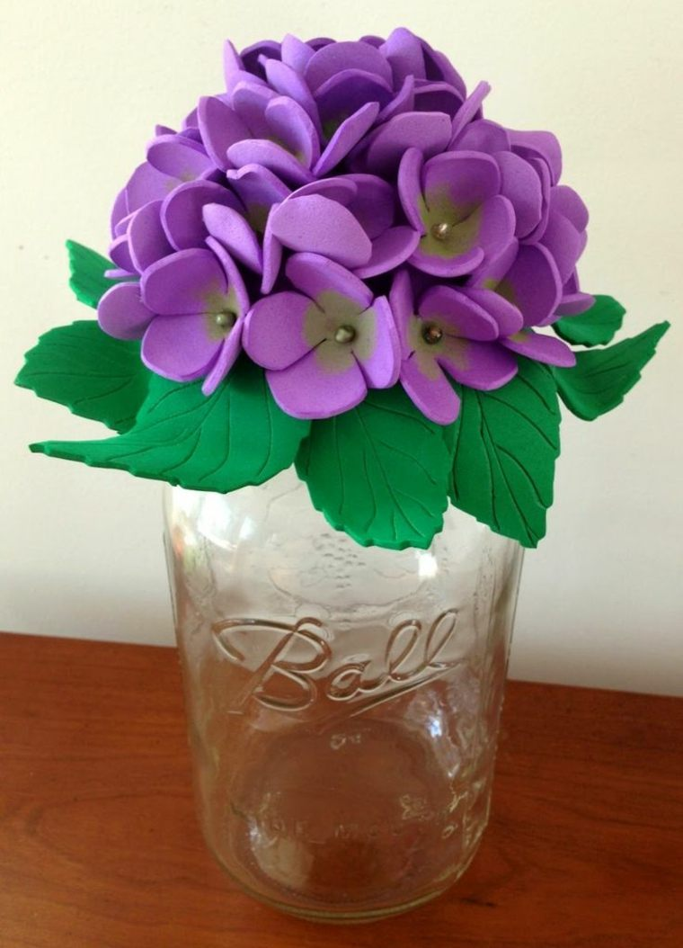 Flores De Goma Eva Ideas Creativas Y Muy Economicas