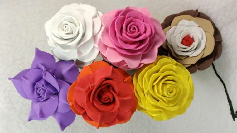 flores de goma eva soluciones-encantadoras