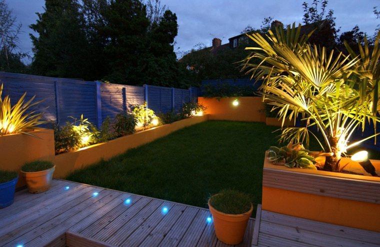 Luces de jard n y estupendas ideas de iluminaci n para for Iluminar jardin sin electricidad